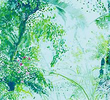 Jungle Painting by Mieke Manse