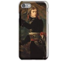 The Distribution Of The Eagle Standards Jacques Louis David iPhone Case/Skin
