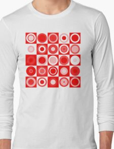 Retro concentric Long Sleeve T-Shirt
