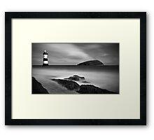 Puffin Island Framed Print