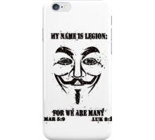MY NAME IS LEGION iPhone Case/Skin