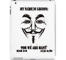 MY NAME IS LEGION iPad Case/Skin