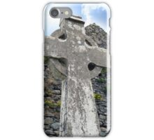 old kerry celtic cross iPhone Case/Skin