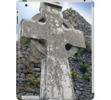 old kerry celtic cross iPad Case/Skin