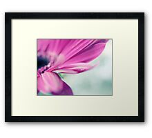 Love makes your soul crawl out from its hiding place... Framed Print