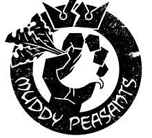 Muddy Peasants (Black) by Steve Dismukes
