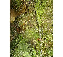Mossy Waterfall Photographic Print