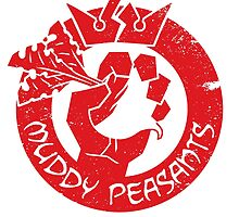 Muddy Peasants (Red) by Steve Dismukes