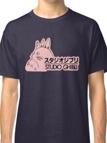 Pink Studio Ghibli Logo Classic T-Shirt
