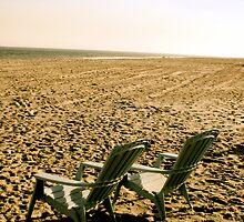 Two Chairs, One Beach. by Lauren Badenhoop