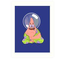Patrick the Enlightened Art Print