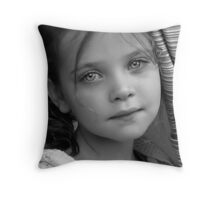 Friday Night Portrait II Throw Pillow