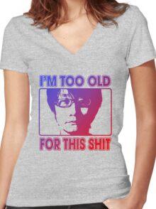 Master Kojima Women's Fitted V-Neck T-Shirt