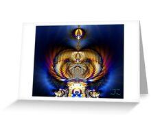 Cosmic Seat Greeting Card