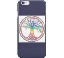 As above so below Chakra Tree iPhone Case/Skin