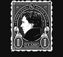 First Class Consulting Detective  Unisex T-Shirt