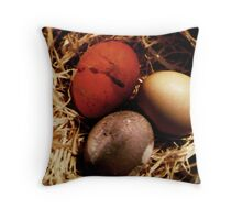 Natural colors Throw Pillow
