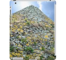 old stone walls from  an old church iPad Case/Skin
