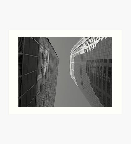 Abstract Building Art Print