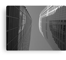 Abstract Building Canvas Print