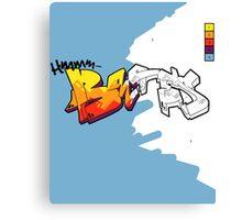 hmmm bates cover Canvas Print