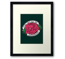 Every Rose Has Its Thornberry Framed Print