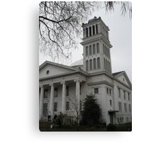 First Christian Church Canvas Print