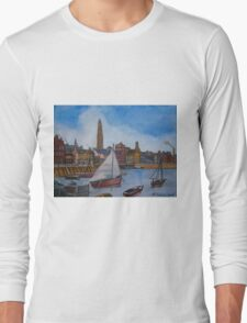 Scotland Greenock Vintage Long Sleeve T-Shirt