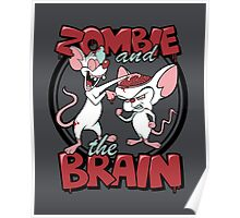 Zombie and the Brain Poster