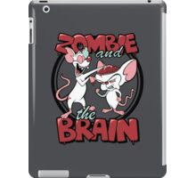 Zombie and the Brain iPad Case/Skin
