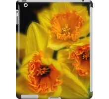 Daffodil time iPad Case/Skin