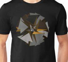 'TetraStar (gold/silver)' Unisex T-Shirt