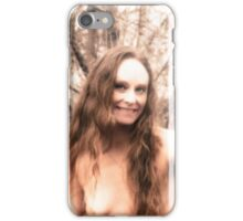 Beauty By A Country Smile  iPhone Case/Skin