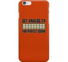 Get Analog 24 iPhone Case/Skin
