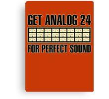 Get Analog 24 Canvas Print