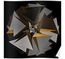 'TetraStar (gold/silver)' Poster