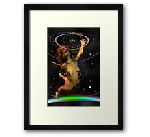 Space Time 167 Framed Print