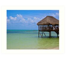 One More Day In Paradise Art Print