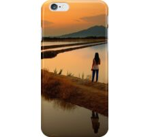 Follow the lines  iPhone Case/Skin
