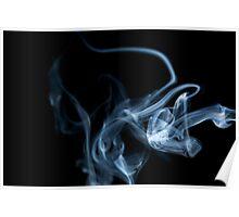 Smokey Abstract Poster