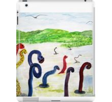 When the Storks went on strike Help Arrived  iPad Case/Skin