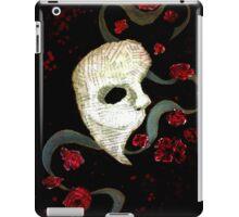 Phantom of the Opera Mask and Roses iPad Case/Skin