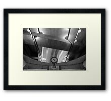METROPOLIS — Hommage a Fritz Lang I. Framed Print