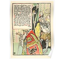 A Masque of Days - From the Last Essays of Elia 1901 illustrated by Walter Crane 9 - Christmas Day Poster