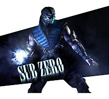 Mortal Kombat - Sub-Zero Photographic Print