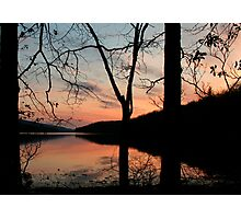 SUNSET REFLECTION Photographic Print