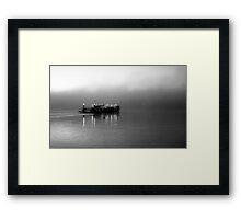 Early Morning Crossing Framed Print