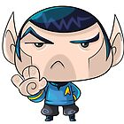 Mr Spock by vancamelot