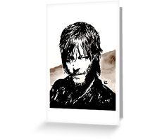 Walking Dead Daryl Dixon Greeting Card