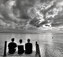 The Three Photographers by Bobby McLeod